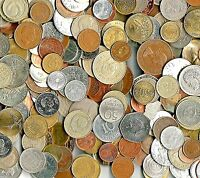 2 Pounds World Foreign Coins, An Excellent Assortment With Larger Heavier Coins