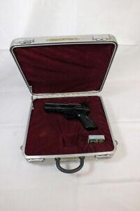 Vintage Webley & Scott LTD Tempest Beeman .177 Air Pistol with Aluminum Case