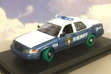 1/43 Greenlight 86504 The Walking Dead Rick & Shanes Ford Crown Police Car