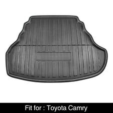 Black Rear Trunk Boot Liner Cargo Mat Floor Tray For Toyota Camry 12 17 Fits 2012 Toyota Camry