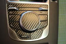 MMI Aufkleber Audi A3 S3 RS3 8V in Carbon-Folien optik incl. Schaltkul. NAV/TEL
