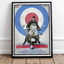 More details for quadrophenia the who print poster two framed or three print options exclusive