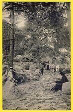 cpa 77 BARBIZON (Seine et Marne) Sentier forestier de la CAVALIÈRE des BRIGANDS