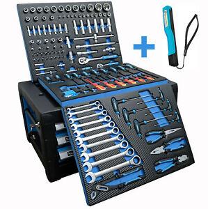Workshop Tool Box Tool Cabinet Tool With Carboneinleger Detec