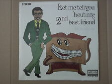 BRYON MELCHER - LET ME TELL YOU BOUT MY 2nd BEST FRIEND LP thomas organ