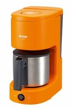 Tiger Coffee Maker 6 Cups Stainless Steel Server Orange ACC-S060-D from Japan