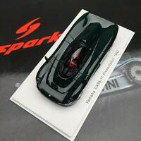 New 1/43 Spark Yamaha OX99-1 Presentation 1992 car Model Dark Green S4993