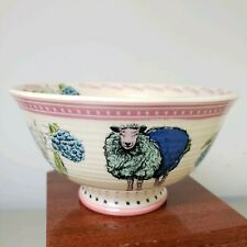 New listing New Anthropologie Toscana Collection Lambs Cereal Latte Bowl Cup Mug Artist