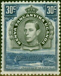 K.U.T 1938 30c Black & Dull Violet-Blue SG141 P.13.25 Good Mtd Mint (3)