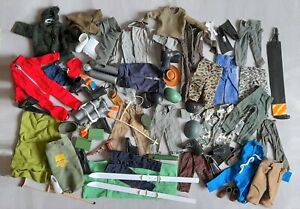 Vintage Action Man - Various Spares Large Lot - Used