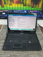 C610 Emachines E525 Laptop working tested to bios  Spares Or Repairs smashed scr