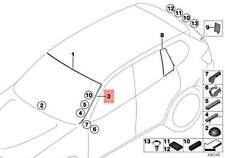 BMW OEM 11-16 X3 Windshield-Pillar Side Molding Trim Surround Left 51317286179