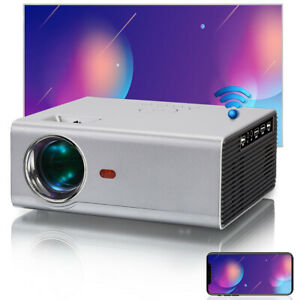 720P Portable Android Projector WiFi LED Mini Projector Home Theater for Outdoor