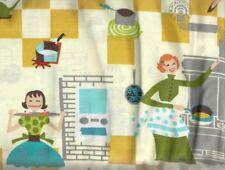 Happy Days retro 50s kitchen fabric
