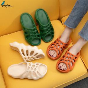 Soft Slippers Women Men Fashion Beach Slides  Indoor Bathroom Slippers Shoes