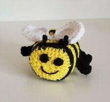 Handmade Colorful Crochet Amigurumi Stuffed Bumble Bee