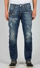 New TAKESHY KUROSAWA 79954 Men's Distressed Style Jeans made in Italy