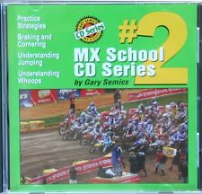 Motocross MX School CD #2 by Gary Semics (this is not a DVD)