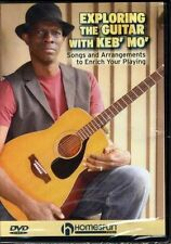 Exploring The Guitar With Keb Mo Learn to Play Folk Blues Soul Jazz Music DVD