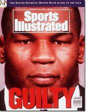 February 17, 1992 Mike Tyson Boxing Sports Illustrated