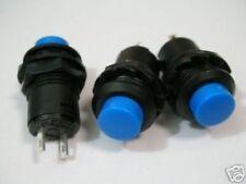 S258 - 5 Stück Drucktaster AUS(EIN) Moment Taster blau