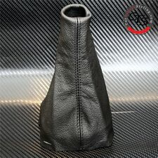 Peugeot 206 Cc Hdi Gti Sw Glx Xs L Negro Cuero Gear Stick Perilla Tapa Polaina