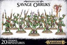 Bonesplitterz Orcs & Goblins Warhammer Fantasy Miniatures