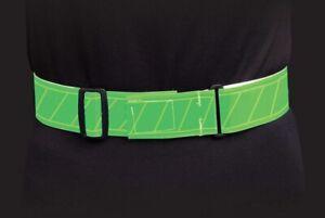 Jogalite Reflective Economy High Visibility Belt Green Color Run Bike Walk
