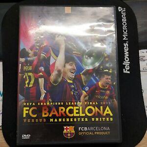 UEFA Champions League Final 2011 FC Barcelona 3 Manchester United DVD Football .