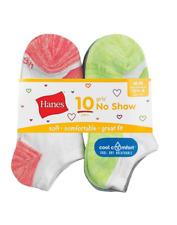 20 Pairs Girls' Cool Comfort No Show Socks