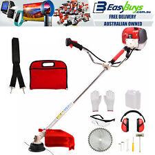 Trimmer Grass MPT® Commercial Petrol Whipper Snipper Brush Cutter Edger 43cc Kit