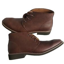 NEW! GUESS Brown Ankle Dress Shoes Boots Mens Size 10 GM-Joey