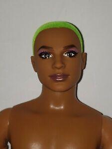 Barbie BMR1959 Ken neon Green Hair Nude Made to Move Ken
