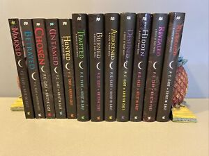 House of Night lot complete series 1-12 set P C Cast Hidden Revealed Redeemed