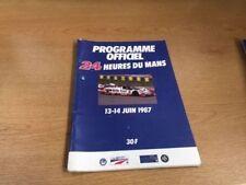 24 HEURES DU MANS JUNE 1987