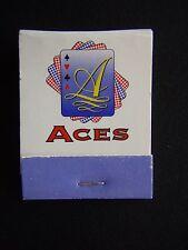 ACES SPORTING CLUB SPRINGVALE RD KEYSBOROUGH 0397015000 MATCHBOOK