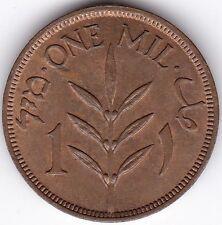 1939 palestina ONE MIL *** Da collezione *** UNC ***
