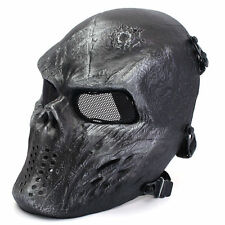 Metal Mesh Protect Face Mask Iron Color Airsoft Paintball Hockey Cosplay