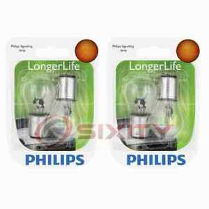 2 pc Philips Rear Turn Signal Light Bulbs for Mercury Colony Park Comet by