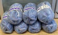 Knitting Yarn-50% Wool-Wendy-350g-Monaco-blues Purples-Crafts-Vintage-C4