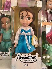 1st Edición Disney Animators's Collection Belle Muñeca-Primera Edición Nuevo Y En Caja
