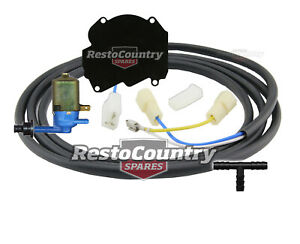 Holden Lucas Washer Motor Wiring Loom + Pump + Plate Kit HQ HJ HX +HZ WB wiper