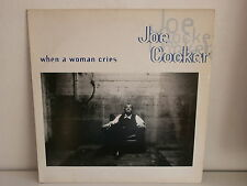 "MAXI 12"" JOE COCKER When a woman cries SP 1651 PROMO"