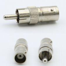 5x BNC Buchse auf Cinch Stecker Adapter Kupplung Set RCA