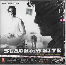 BLACK & WHITE  - NEW BOLLYWOOD SOUNDTRACK CD - FREE UK POST