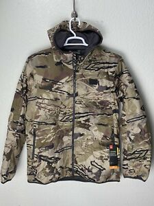 Under Armour 1355316-999 Mens Brow Tine X storm Jacket Mid-season size 2XL Camo