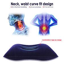 Outdoors Inflatable Pillow Lumbar Cushion Headrest Travel Portable Sleep Pillows