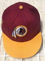 Washington Redskins New Era SnapBack Cap Hat  Indian Football NFL Men's M/L