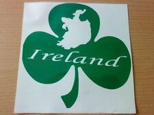 irish shamrock ireland folk vinyl car sticker graphic windows walls doors map
