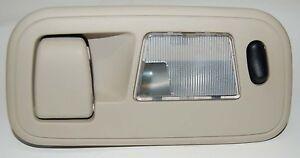 1999-2003 Ford Windstar Courtesy Light Hanger Tan 2nd Row Left Side Dome Light
